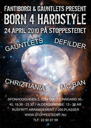 Born 4 Hardstyle Poster