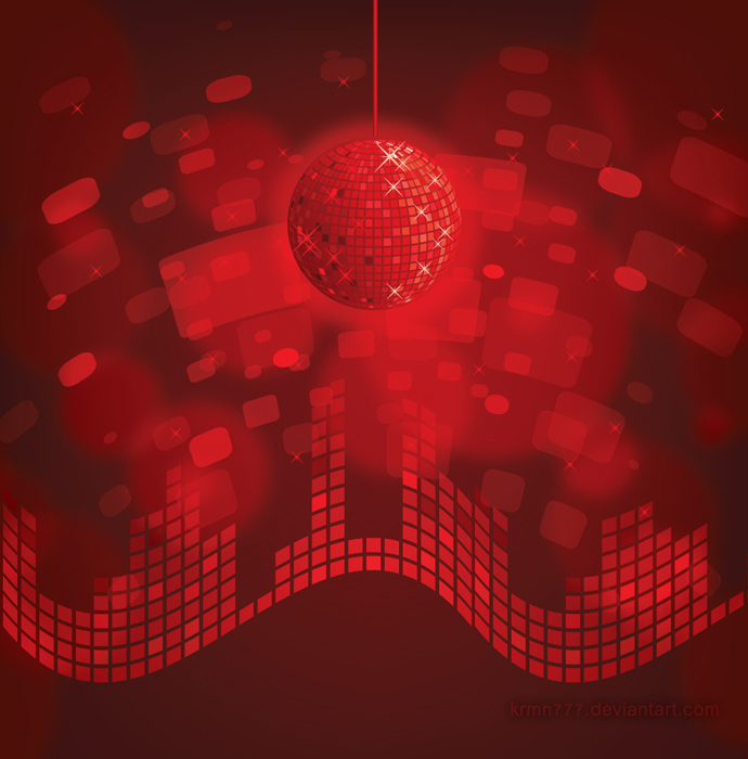 Red Disco Ball By Krmn777 On Deviantart