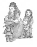 The Hobbit art 010 by AnkaD