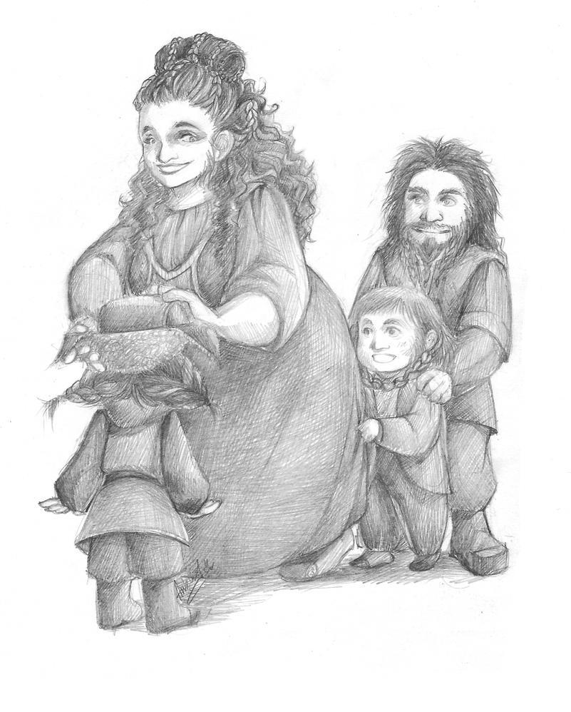 The Hobbit art 010 by AnkaD