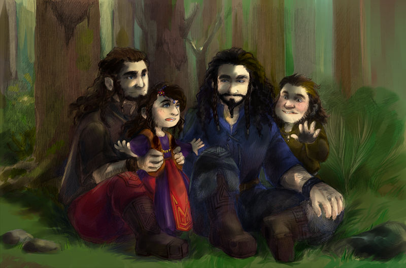 The Hobbit art 012 by AnkaD
