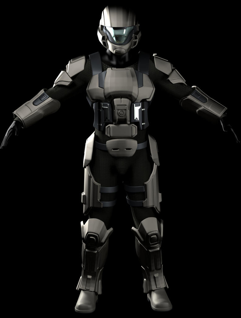 Dawn Under Heaven ODST by EvocProps