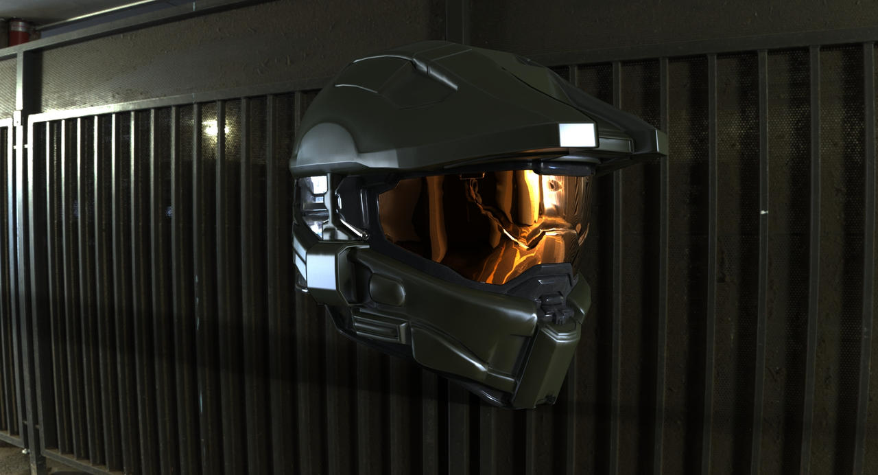 Halo 4 Master Chief Helmet By EvocProps On DeviantArt