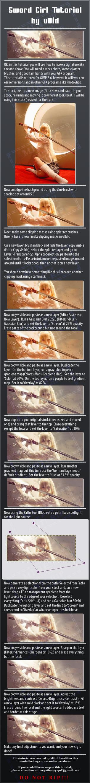 Sword Girl GIMP Sig Tutorial by v0id19