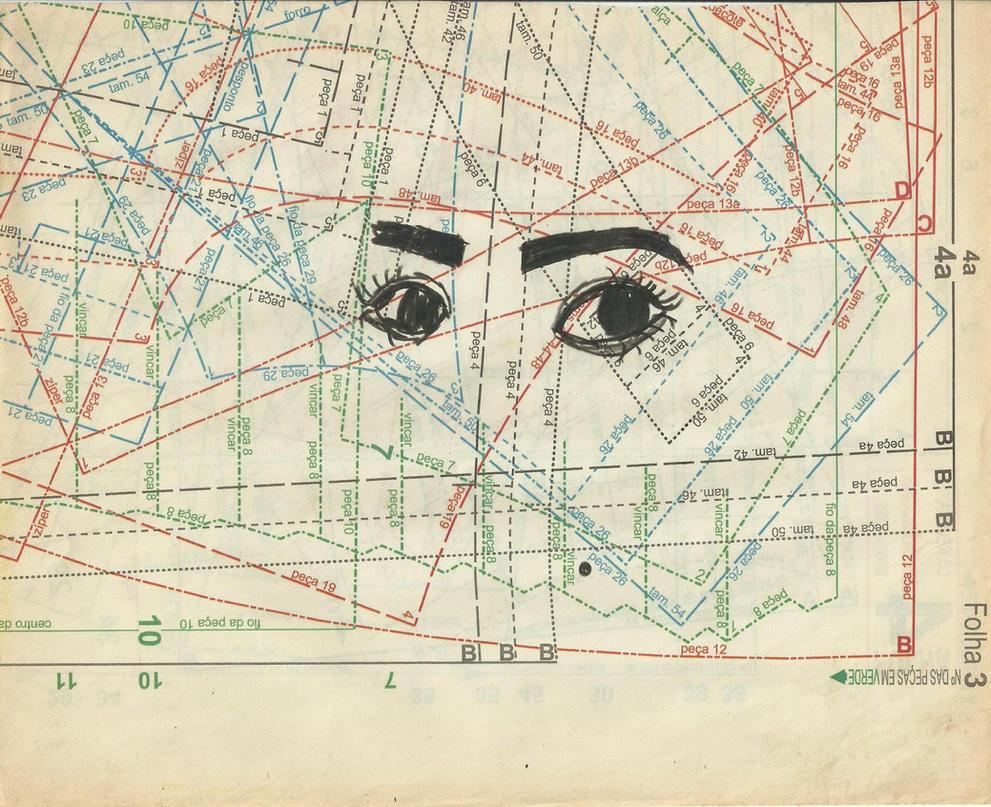 olhos. by brunamiane