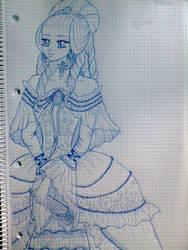 Marie Antoinette Sketch