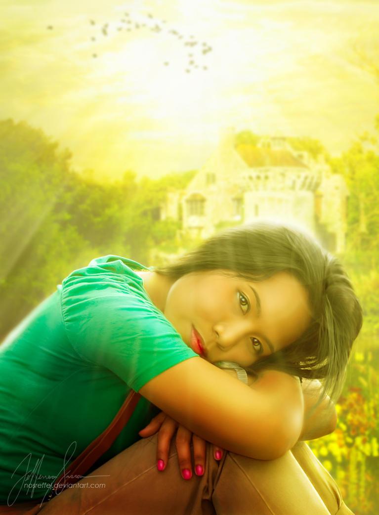 Sun Kiss by nosreffej