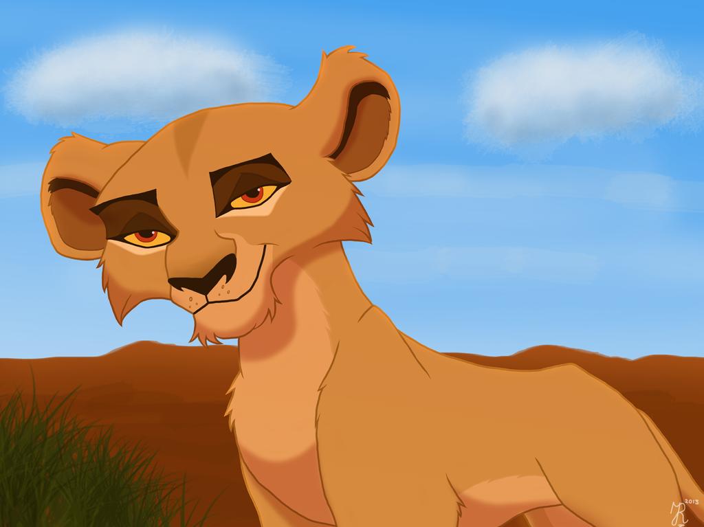 lion king scar and zira as cubs
