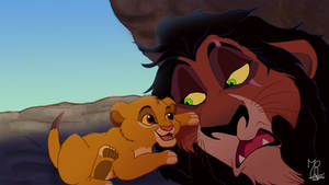 Scar and that little hairball
