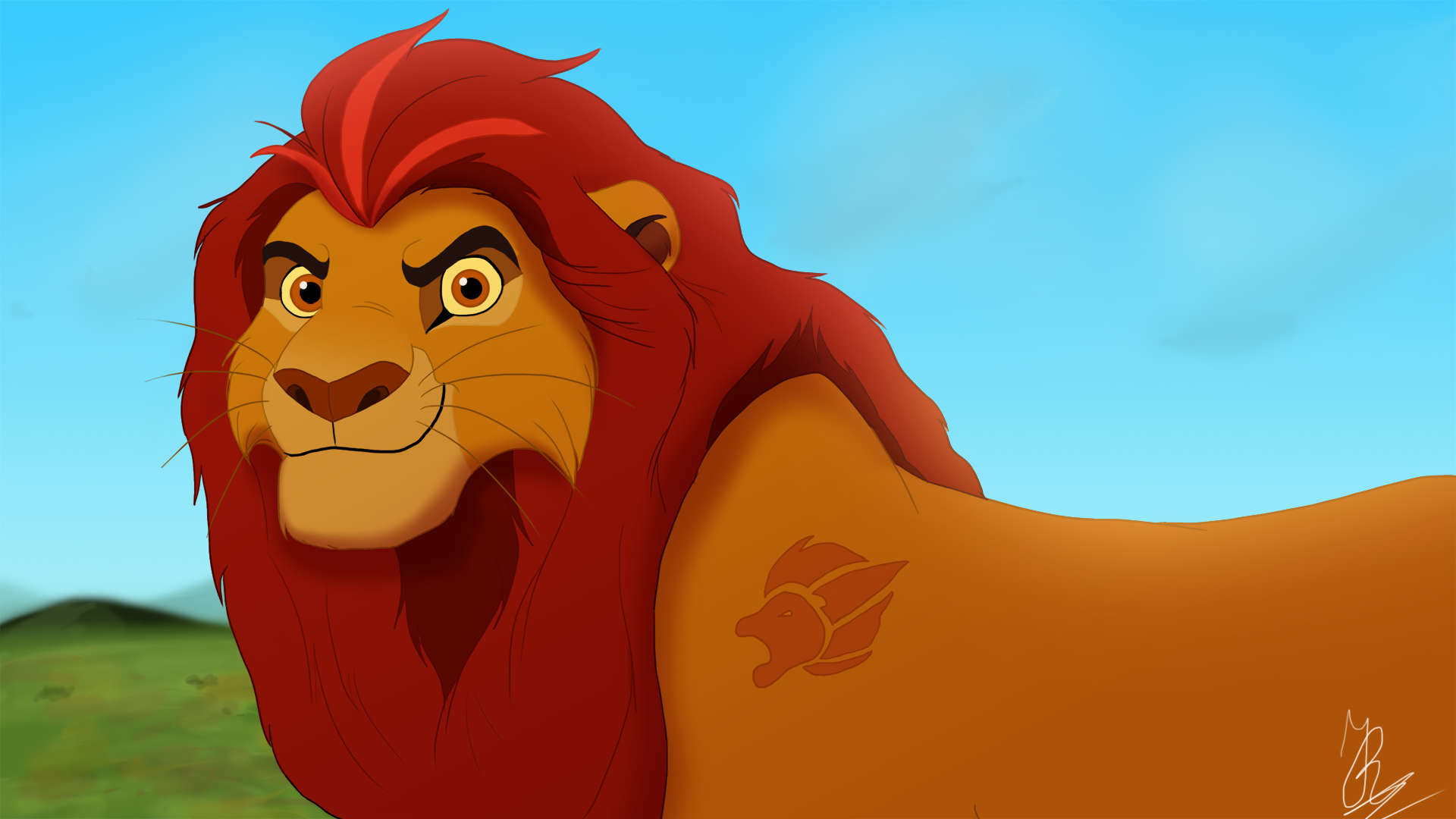 The leader of the Lion Guard