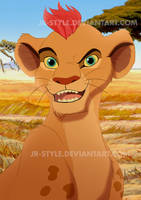 Nala's father by JR-Style