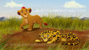 Kion and Fuli by JR-Style