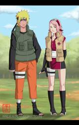 Naruto . Sakura . 2TimeSkip . by innera