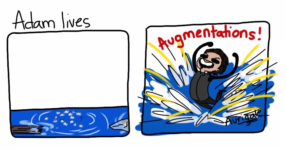 Deus Ex: Adam Lives by aurigale
