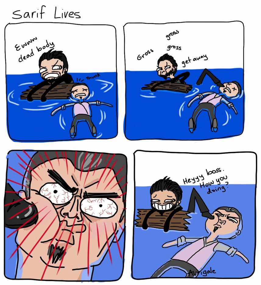 Deus Ex: Sarif Lives(?) by aurigale