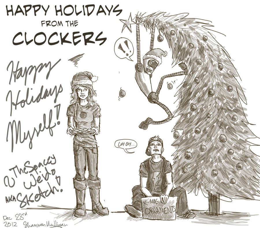 Happy Holidays! by Sketch-Zap