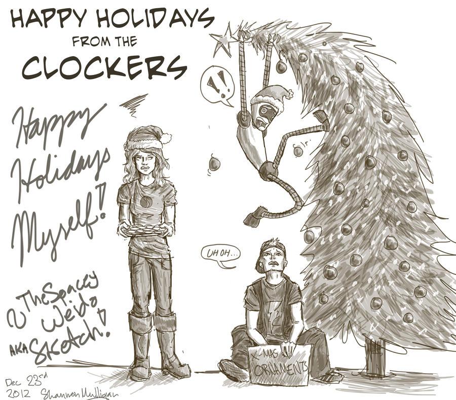 Happy Holidays! by Sketch-Zap