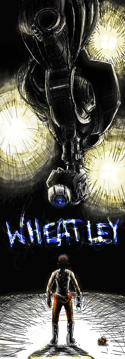 Wheatley Laboratories by Sketch-Zap
