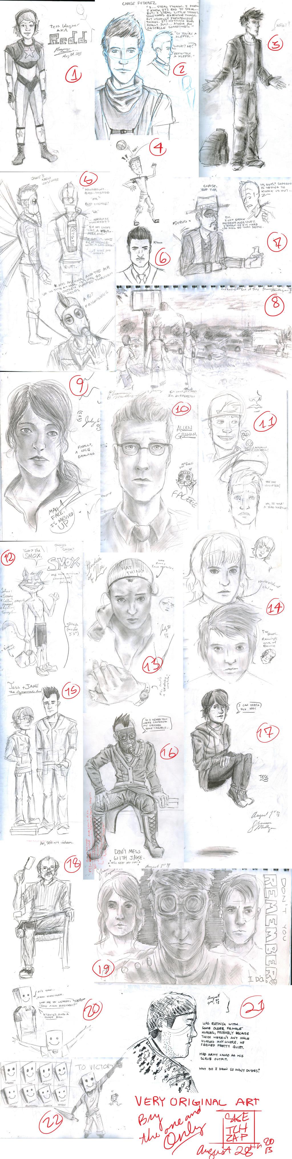 SketchBookUpLoad- Orginal Stuff by Sketch-Zap