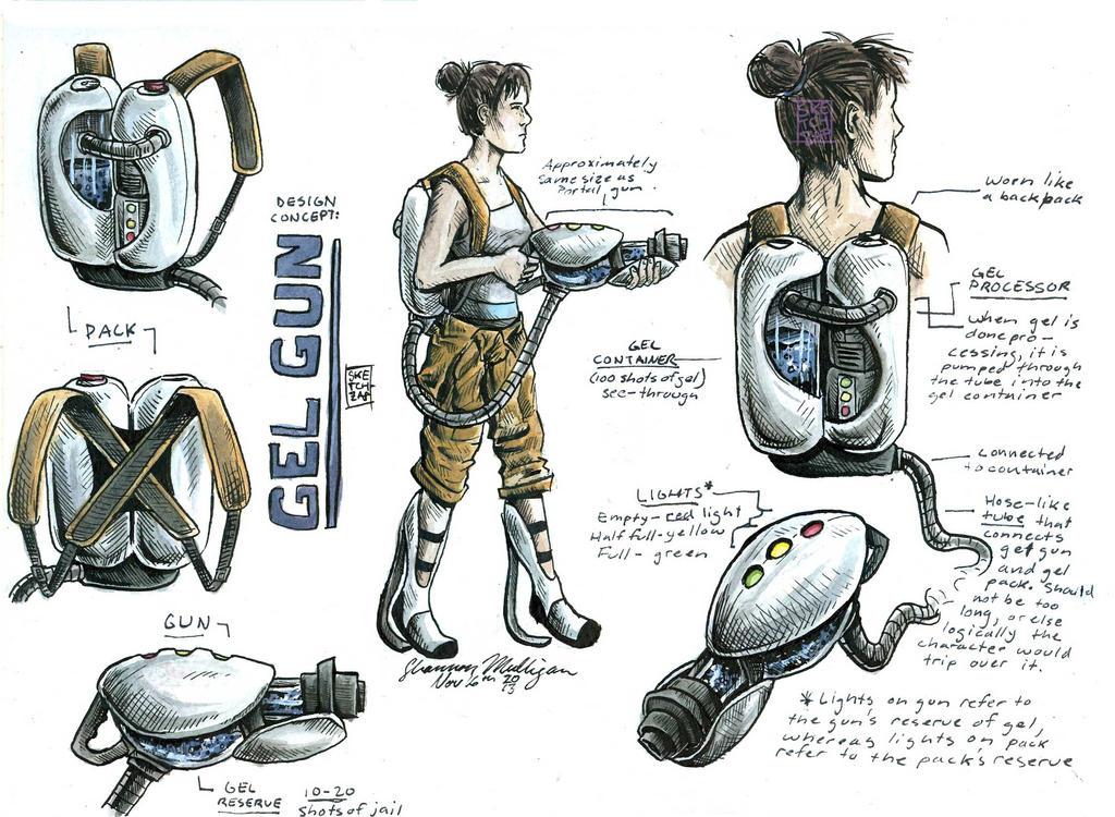 Commission- Gel Gun Concept by Sketch-Zap