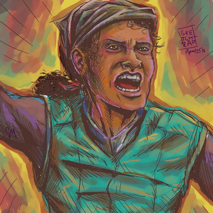 Angry Sebie by Sketch-Zap