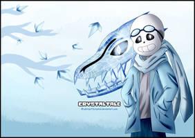 Crystal Sans [Desktop Wallpaper] - Test by zahraart3crystal