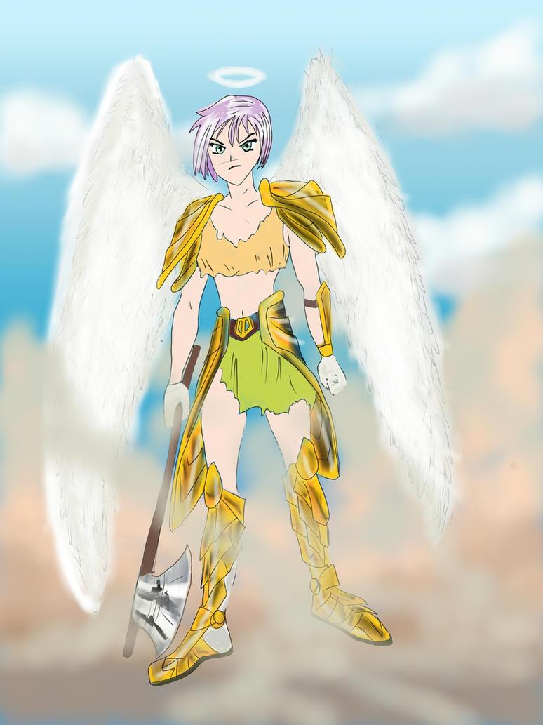Anjo da Guarda Atrapalhada by kadu20es