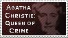 Agatha Christie Stamp by Capella336