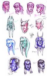 Star Wars Sketchdump