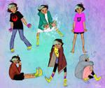 Esther Sketches