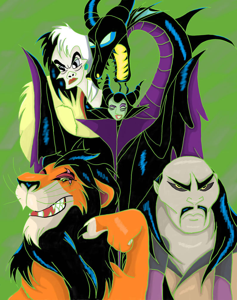 Fav Villains 1 by jmq