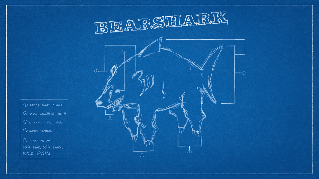 Wallpaper download dangerous - Bearshark Blueprints Wallpaper 1600x900 By Dangerousdeven