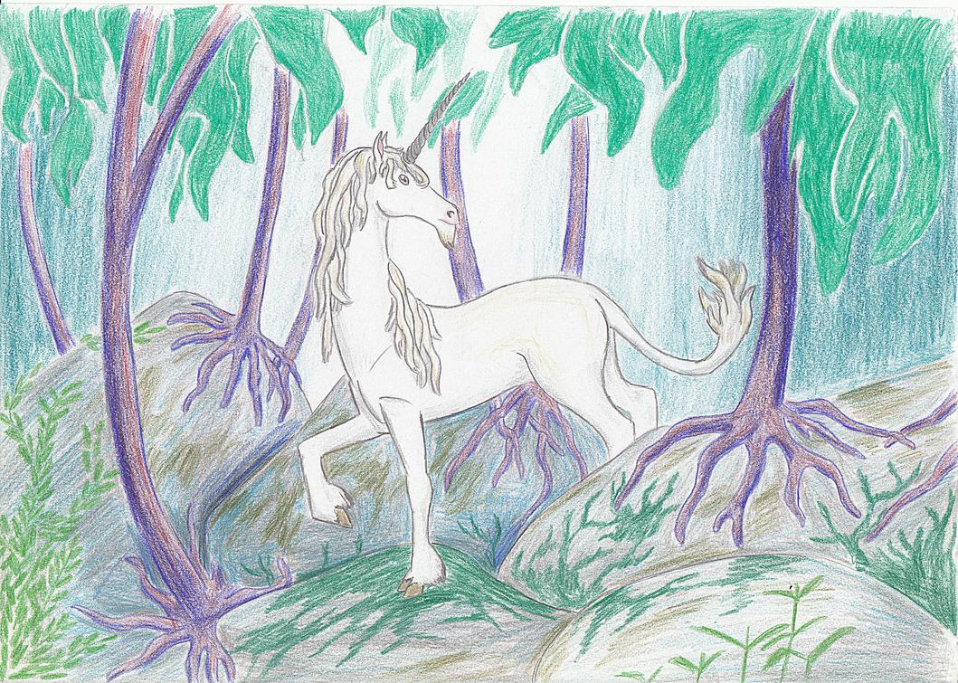 Unicorn by DinosaurianDude