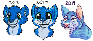 Blue cat 2019