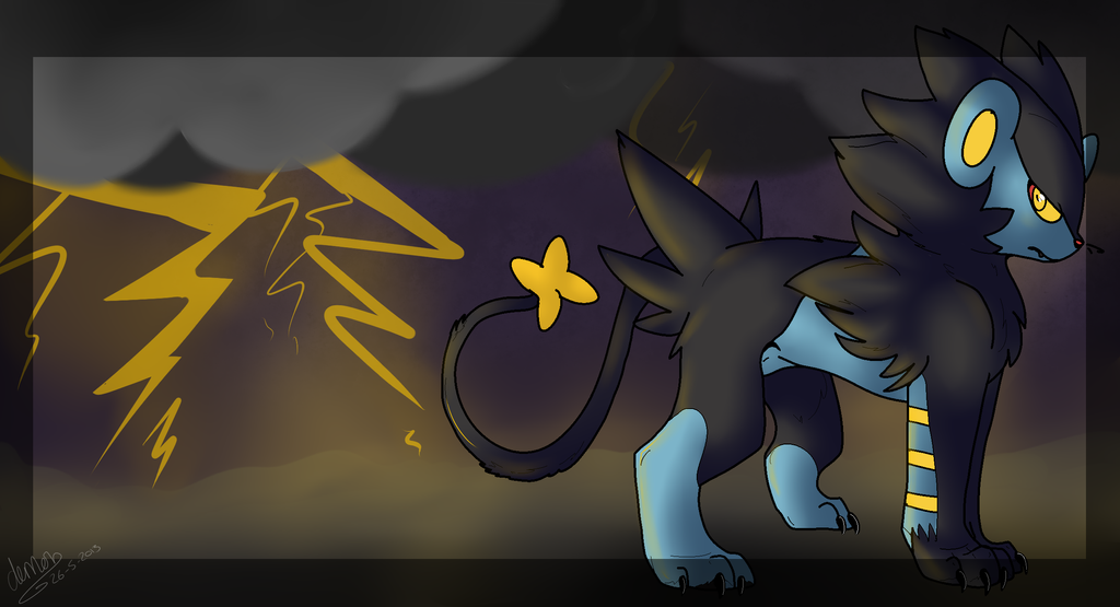 Free Luxray Wallpaper By MrxBluexKarlyle