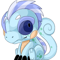 Blue Speckled and Striped cham by BlueGriffyon
