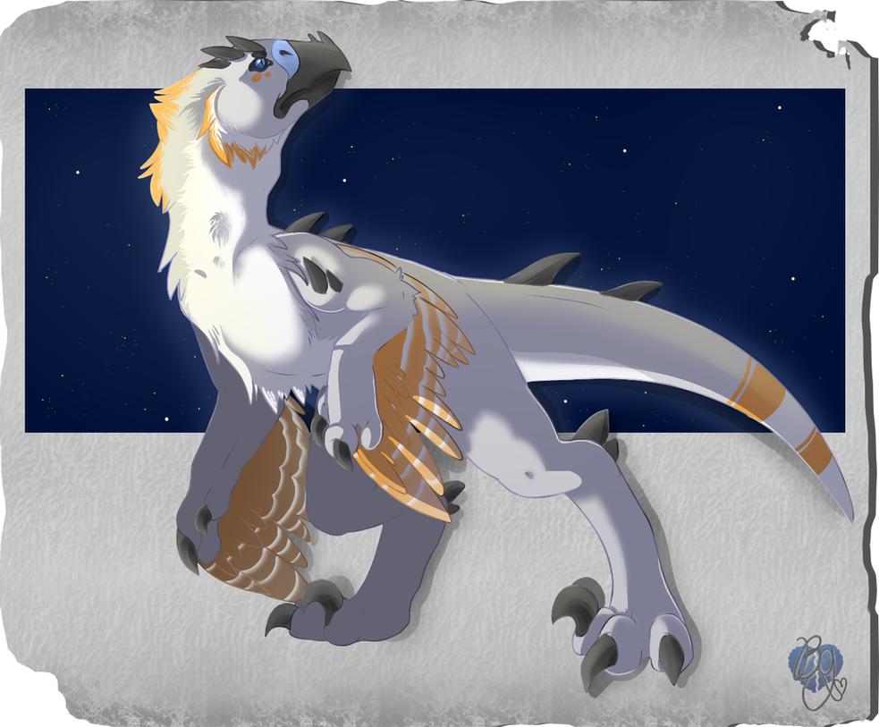 Prehistoric Cody Griffon by BlueGriffyon