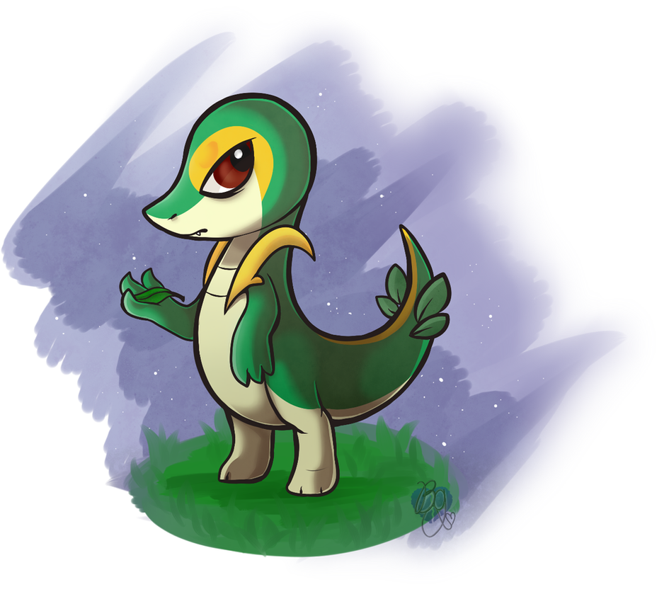 Defective Snivy by BlueGriffyon