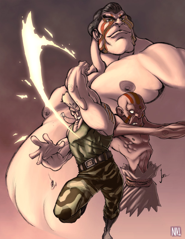 Street Fighter by NicolasViig