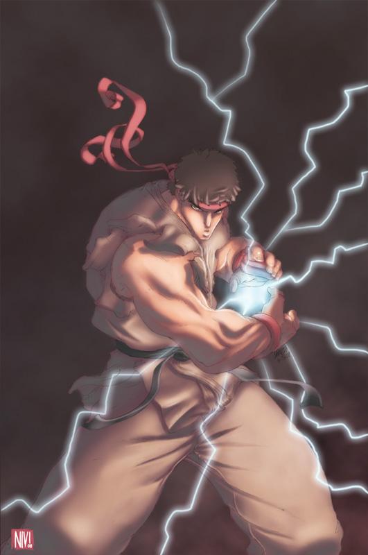 Street Fighter Ryu by NicolasViig