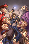 Street Fighter colors