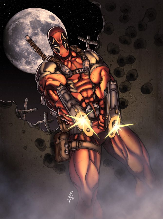 Deadpool by NicolasViig