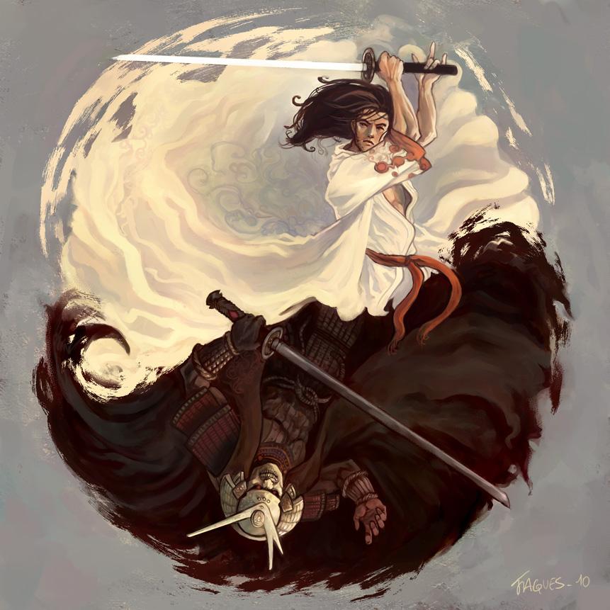 yin yang by fallen-eye