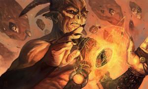 demon mage by fallen-eye