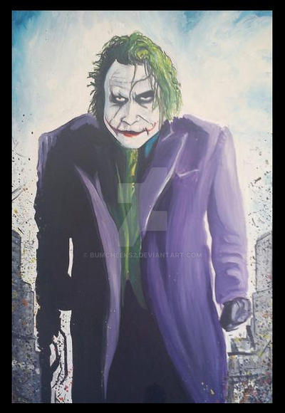 THE JOKER by BUMCHEEKS2