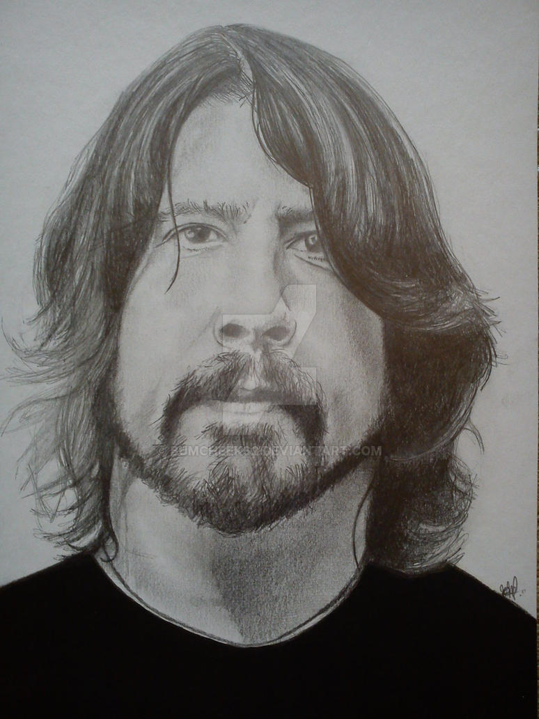 FOO FIGHTERS (DAVE GROHL) by BUMCHEEKS2