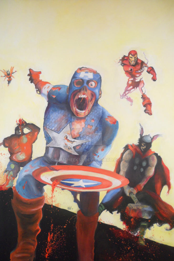MARVEL ZOMBIES: AVENGERS DISASSEMBLE by BUMCHEEKS2