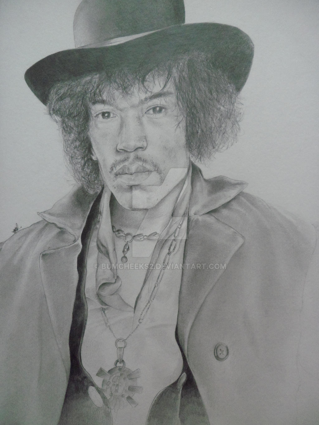 JIMI HENDRIX TRIBUTE TO A LEGEND by BUMCHEEKS2