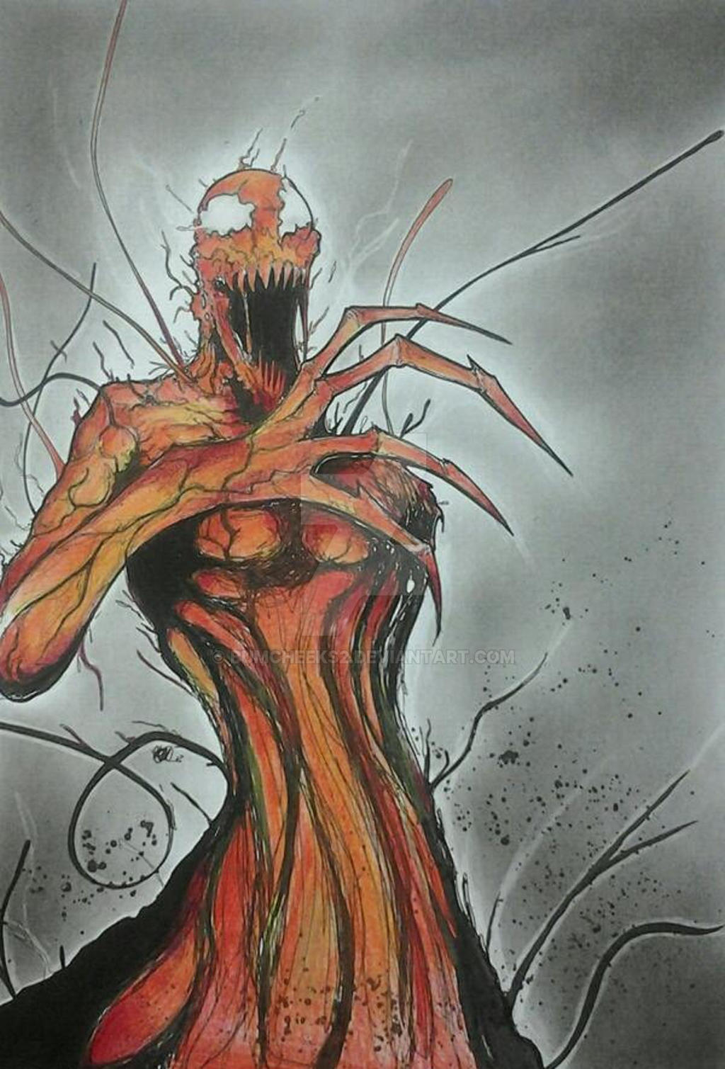 MARVEL'S CARNAGE by BUMCHEEKS2