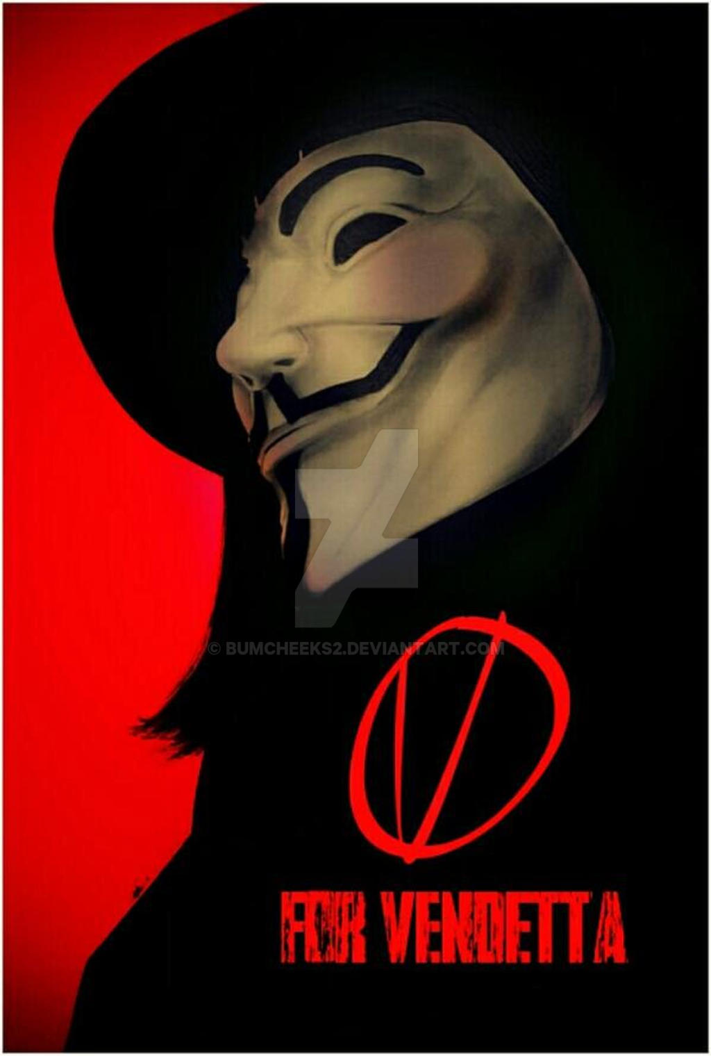V FOR VENDETTA VARIANT by BUMCHEEKS2